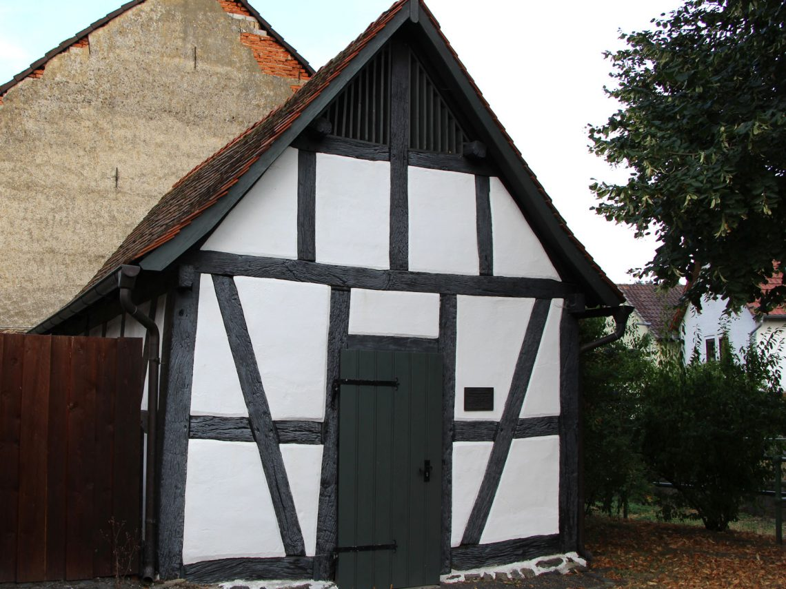 Kulturdenkmäler Laubach, Backhaus, Bachstraße 12, Gonterskirchen