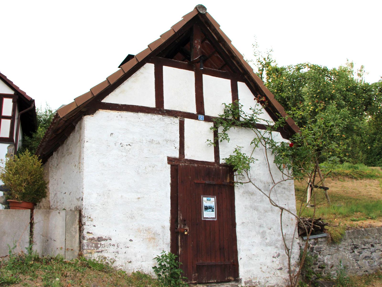 enkmalgeschütztes Backhaus, Hauptstraße 6a, Gonterskirchen,