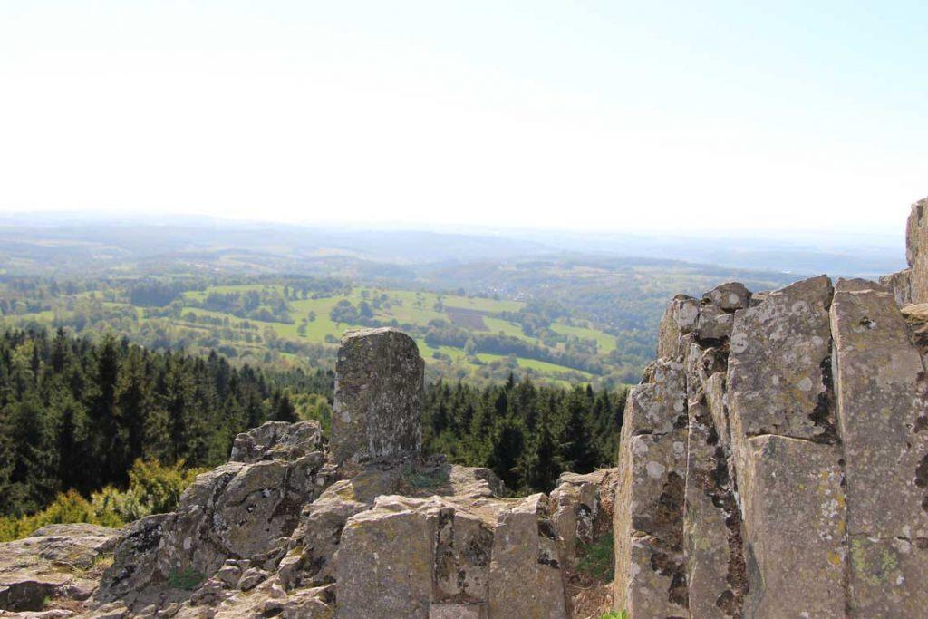 Bilstein bei Gipfeltour Schotten, wandern vogelsberg, wandern in hessen