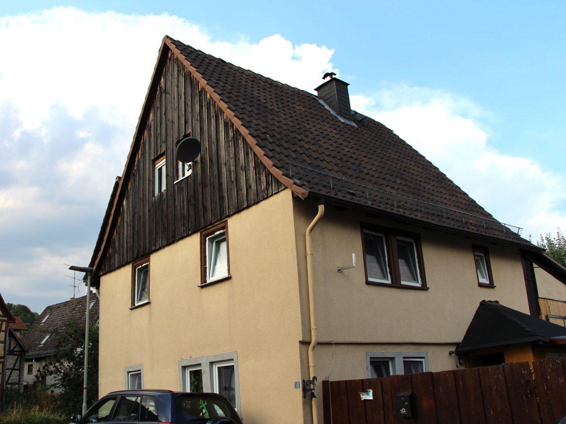 Denkmalgeschütztes Fachwekhaus Bachstraße 10, Gonterskirchen, Laubach