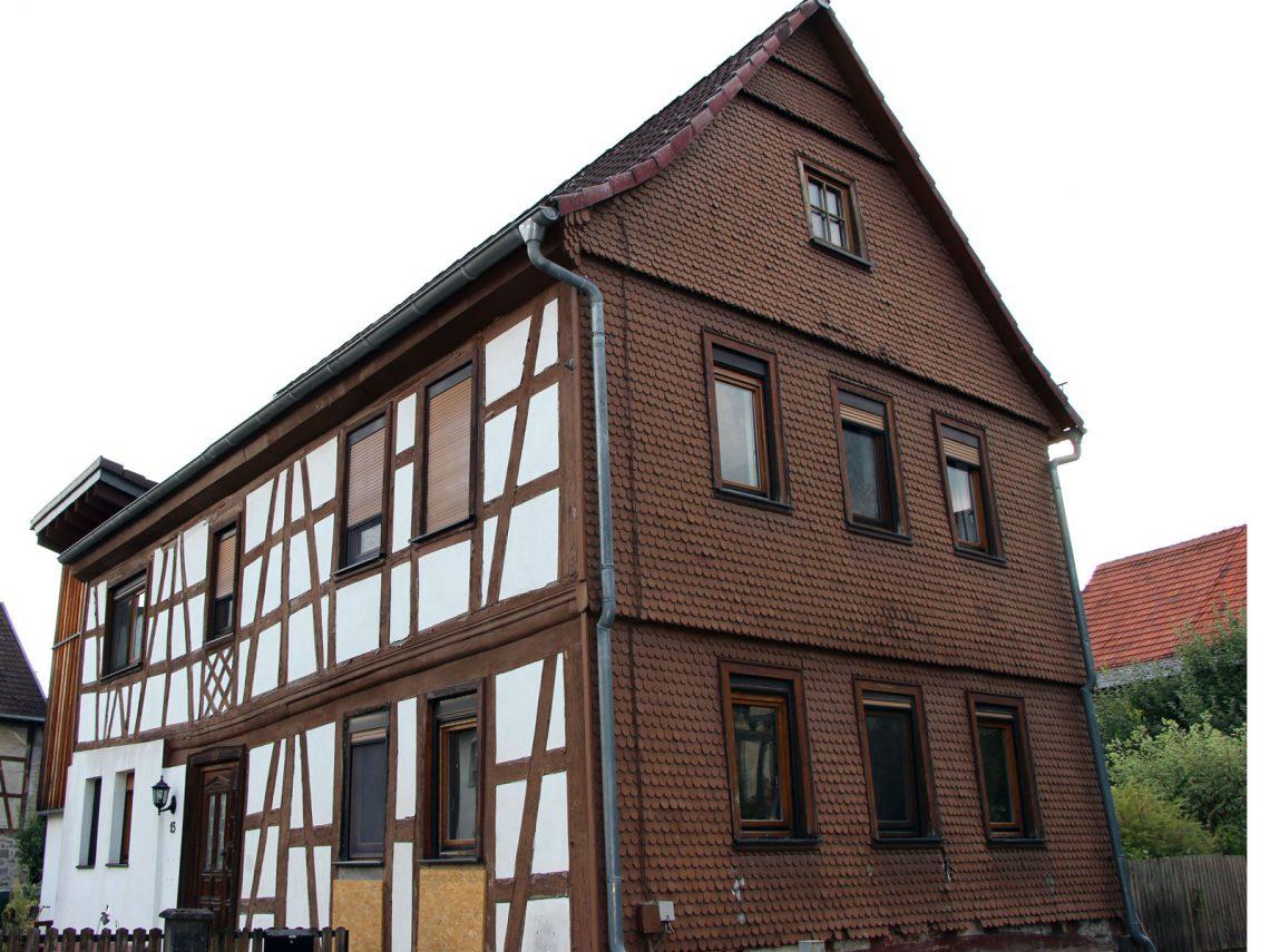 Fachwekhaus Bachstraße 13, Gonterskirchen, Laubach