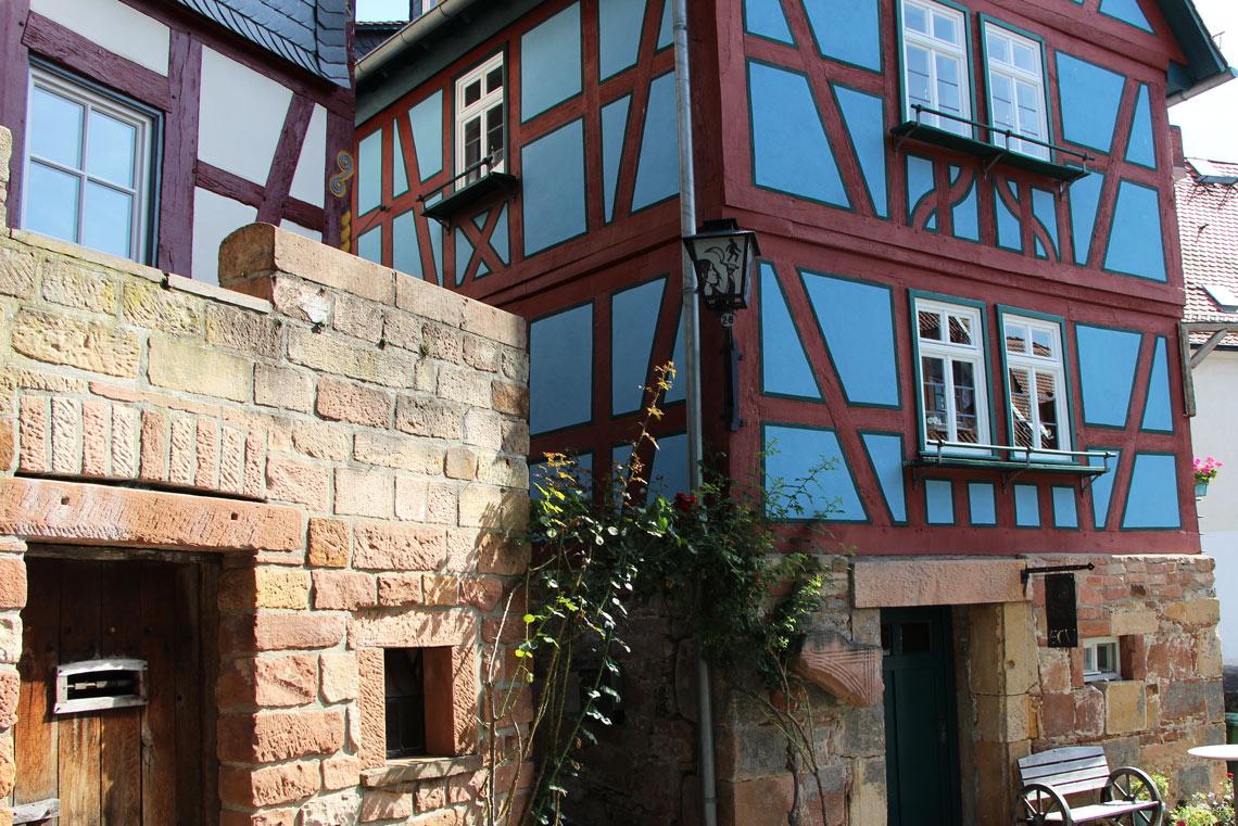 Fachwerkhaus in Ortenberg am Vulkanradweg