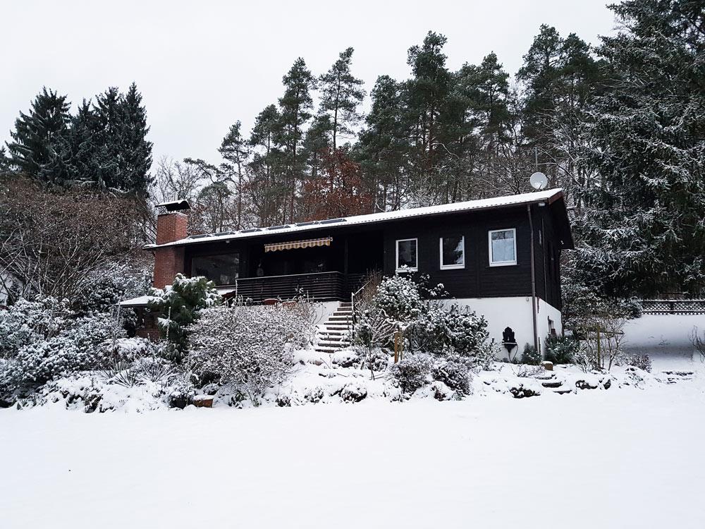 Ferienhaus im Skigebiet - Skifahren in Vogelsberg, Hessen Deutschland