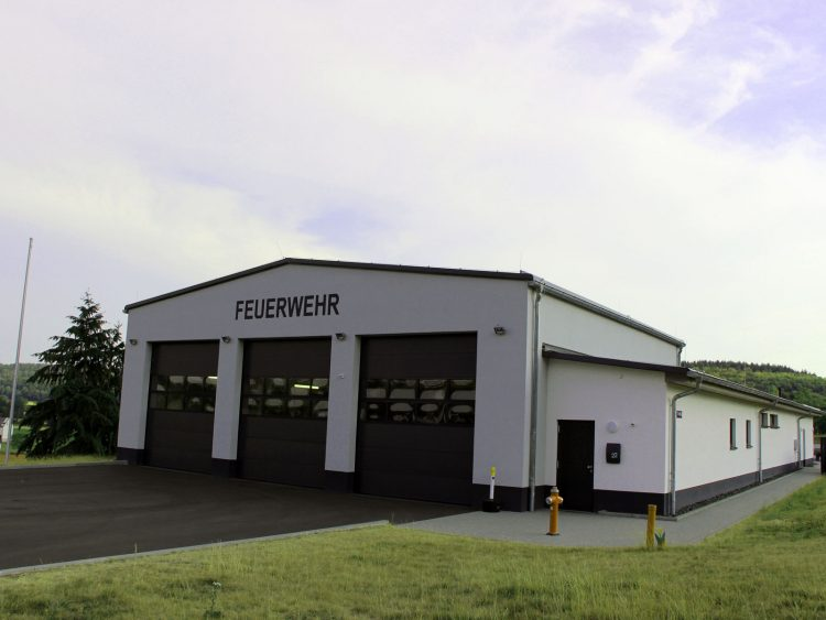 Feuerwehrhaus in Gonterskirchen, Laubach