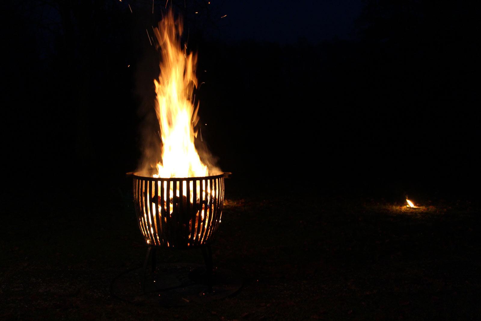 Flammlachs Grill vorbereiten