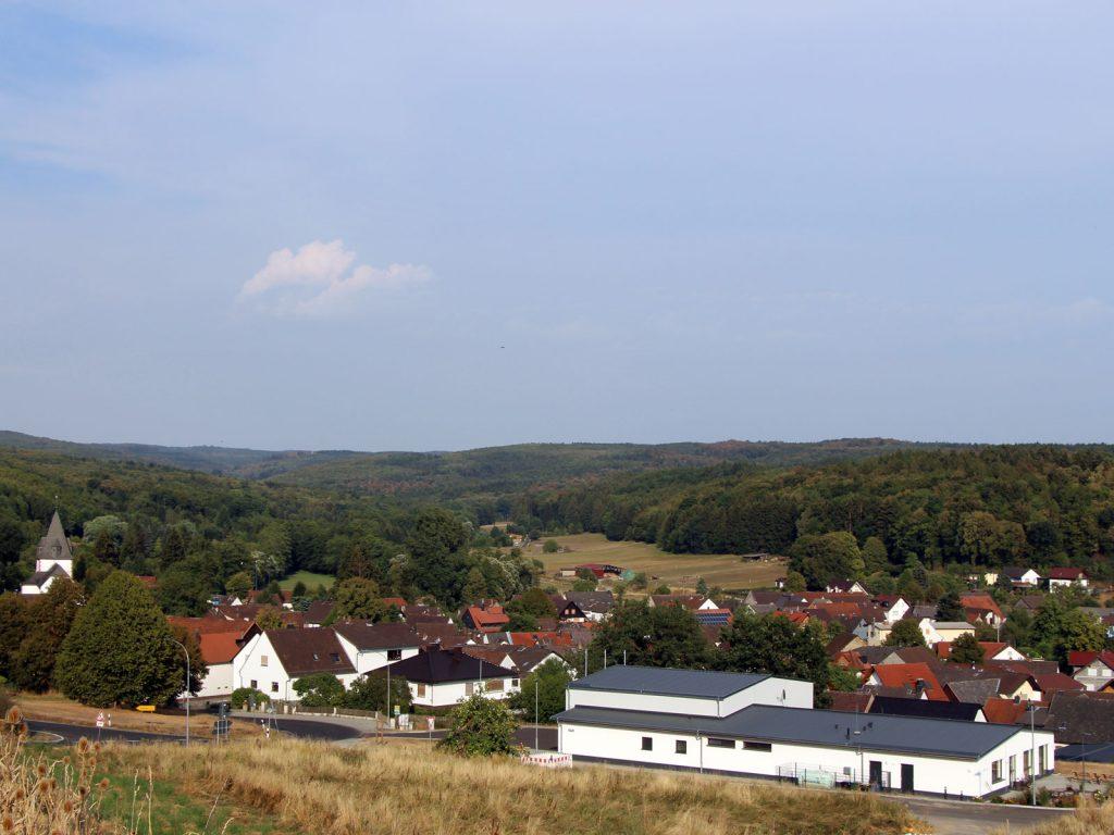 Gonterskirchen bei Laubach in Hessen, Horlofftal