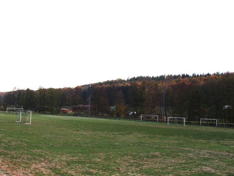 Sportfeld in Gonterskirchen, Fußballplatz