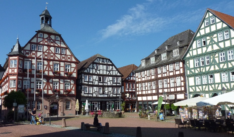 Grünberg Marktplatz