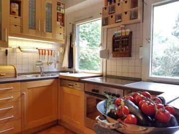 Küche im Ferienhaus Naturliebe im Vogelsberg Hessen Deutschland