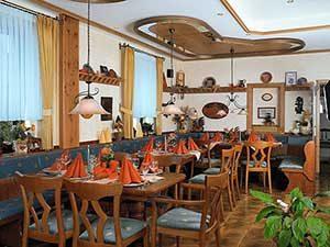 Kupferschmiede Restaurant bei Ferienhaus Naturliebe in Laubach Gonterskirchen bei Schotten im Vogelsberg, Hessen, Deutschland