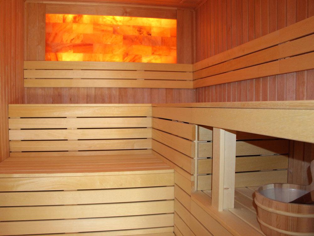 Sauna im Ferienhaus Naturliebe