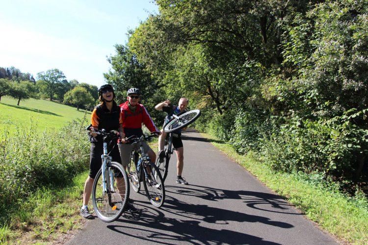 Urlaub mit dem Fahrrad auf dem Vulkanradweg