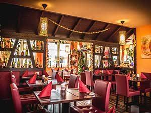 Calabria - Restaurant bei Ferienhaus Naturliebe in Laubach Gonterskirchen bei Schotten im Vogelsberg, Hessen, Deutschland