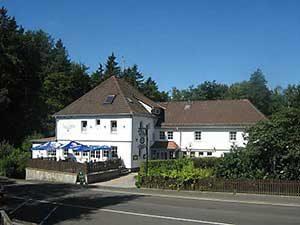Laubacher Wald Ferienhaus Naturliebe in Laubach Gonterskirchen bei Schotten im Vogelsberg, Hessen, Deutschland